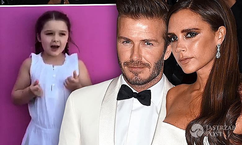 Harper Beckham życzenia urodzinowe