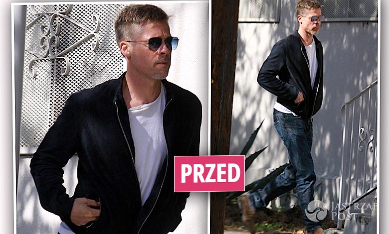 Brad Pitt chudy