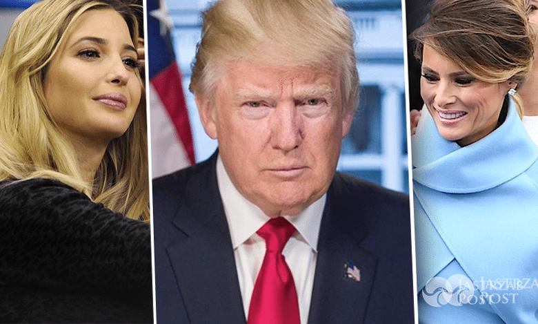 Donald Trump, Ivanka, Melania