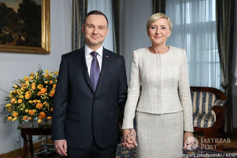 Agata Duda i Andrzej Duda złożyli życzenia z okazji Wielkanocy