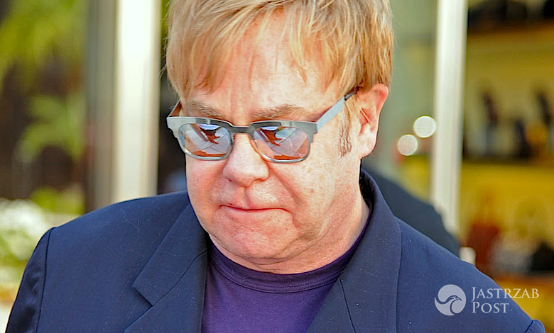 Elton John jest chory