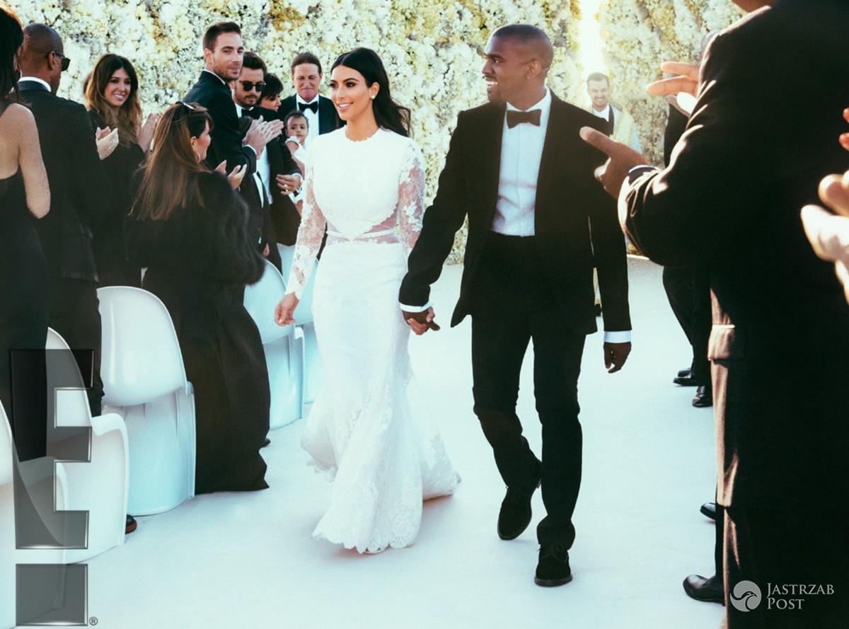 Kim Kardashian - ślub z Kanye Westem