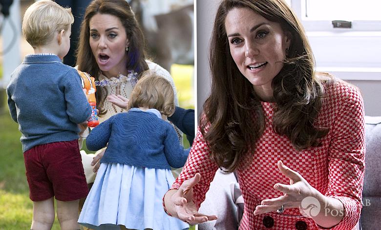 Księżna Kate metody wychowawcze