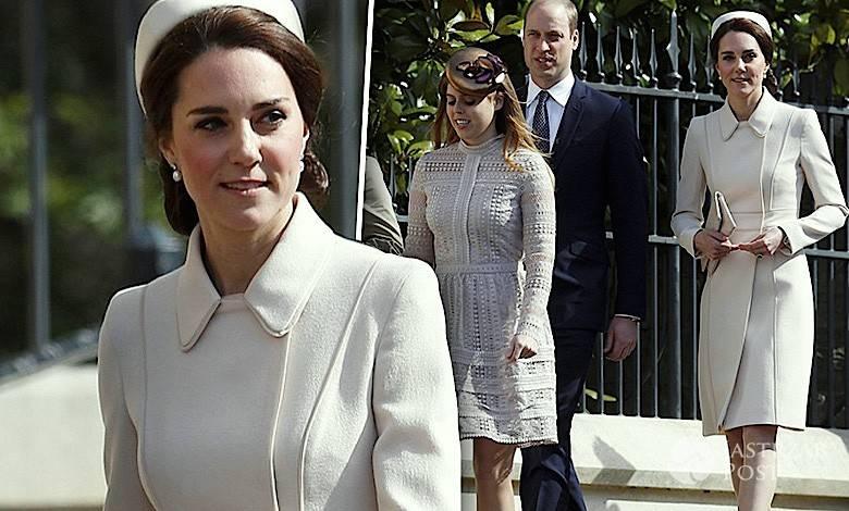 Księżna Kate Wielkanoc 2017 zdjęcia stylizacja