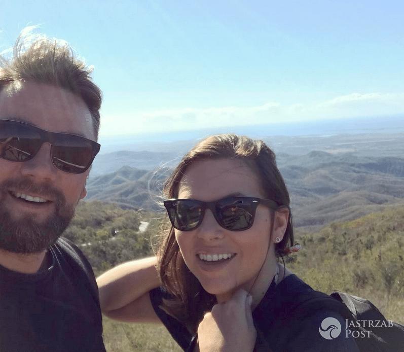 Ola Kwaśniewska z mężem Kubą Badachem na wakacjach
