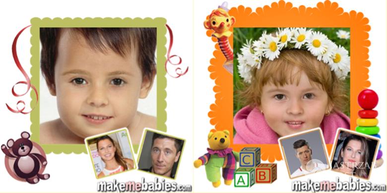 Twarz dziecka Anny i Roberta Lewandowskich, jak wygląda? Symulacja komputerowa