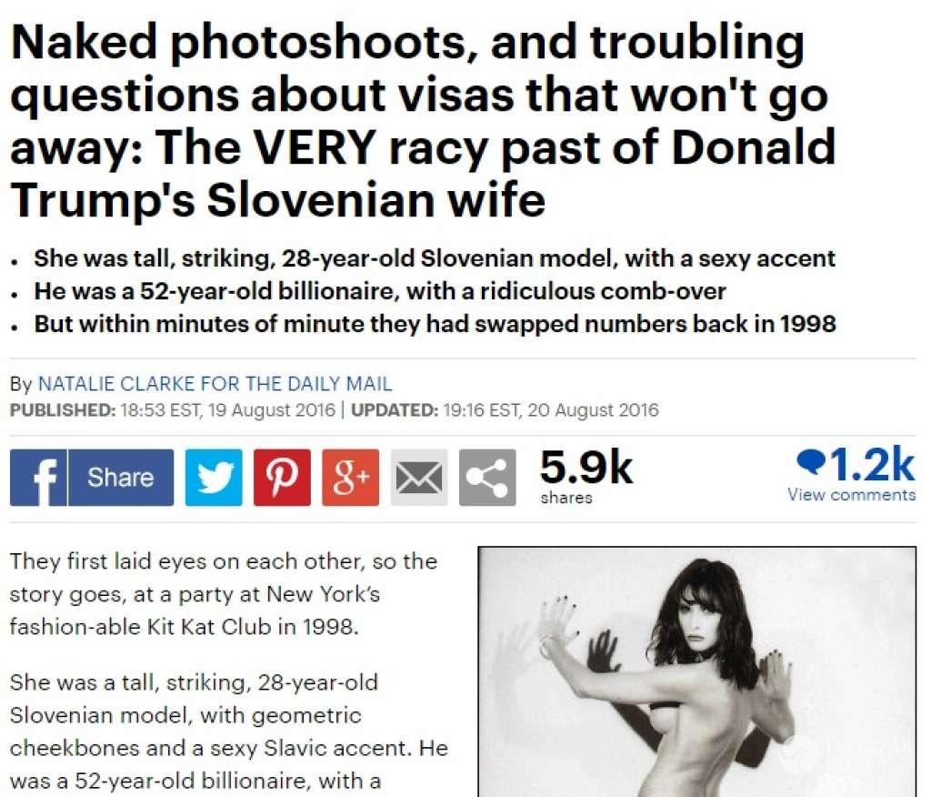 Melania Trump wygrała z Daily Mail