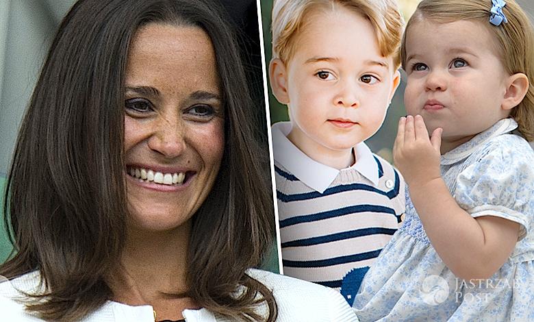 Pippa Middleton ślub, dzieci księżnej Kate