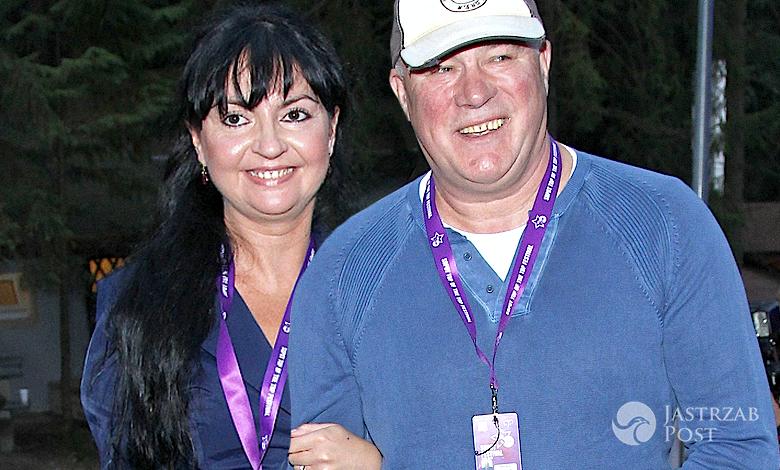 Ryszard Rynkowski z żoną