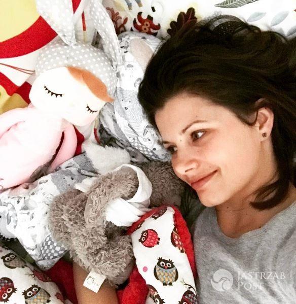 Agnieszka Sienkiewicz o roku spędzonym z córką Zosią