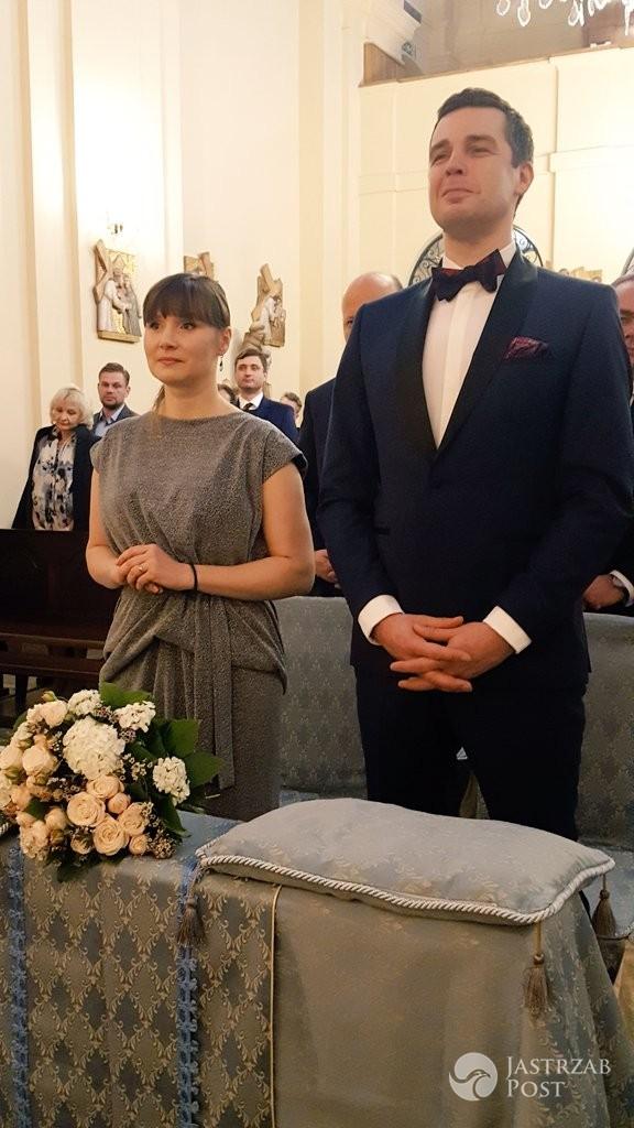 Ślub Michała Radonia i Katarzyny Gójskiej-Hejke