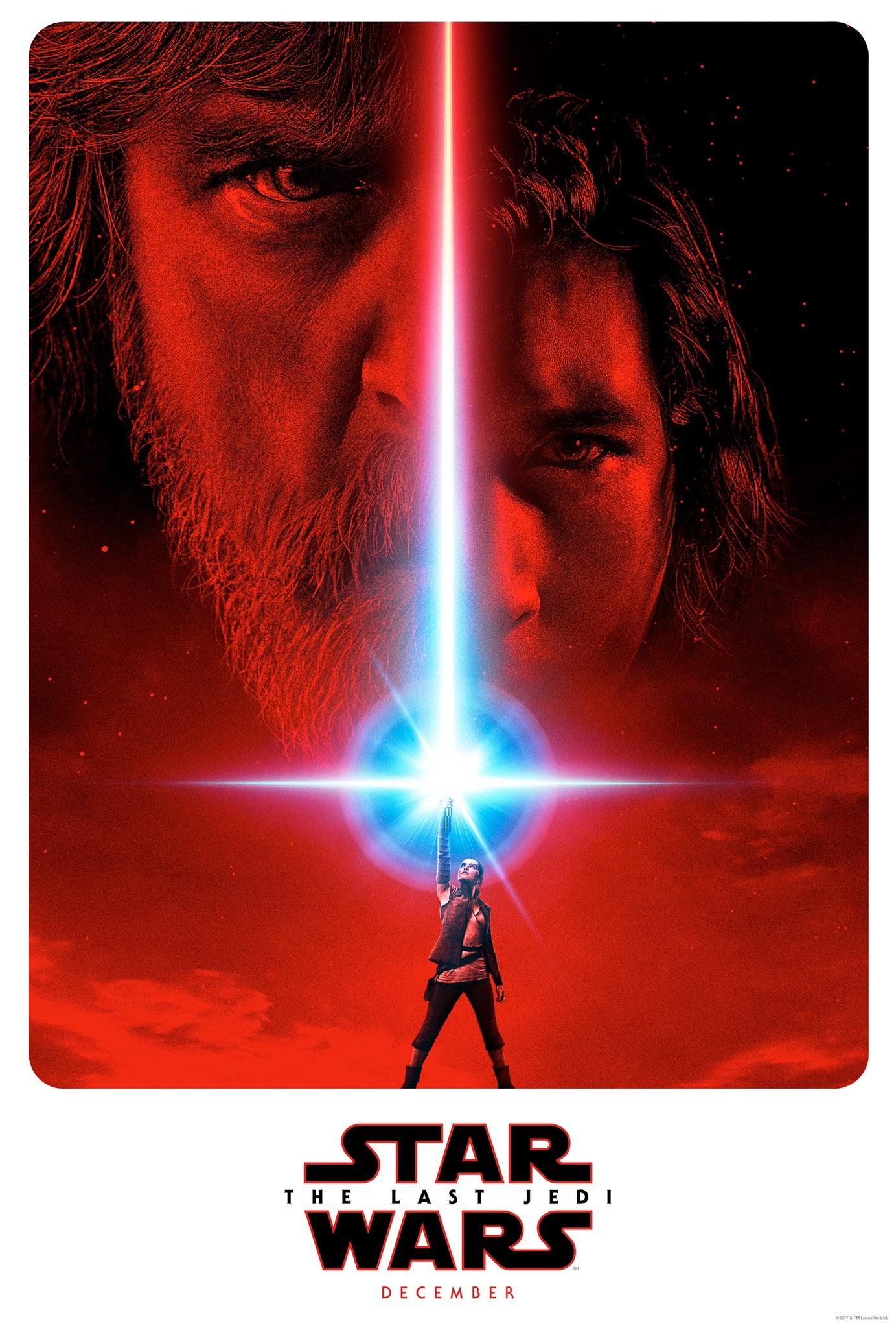 Gwiezne wojny. Ostatni Jedi - oficjalny plakat, data premiery