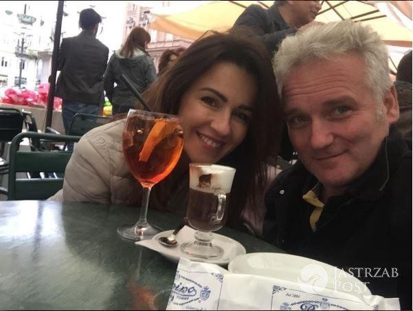 Beata Tadla i Jarosław Kret na urlopie we Włoszech