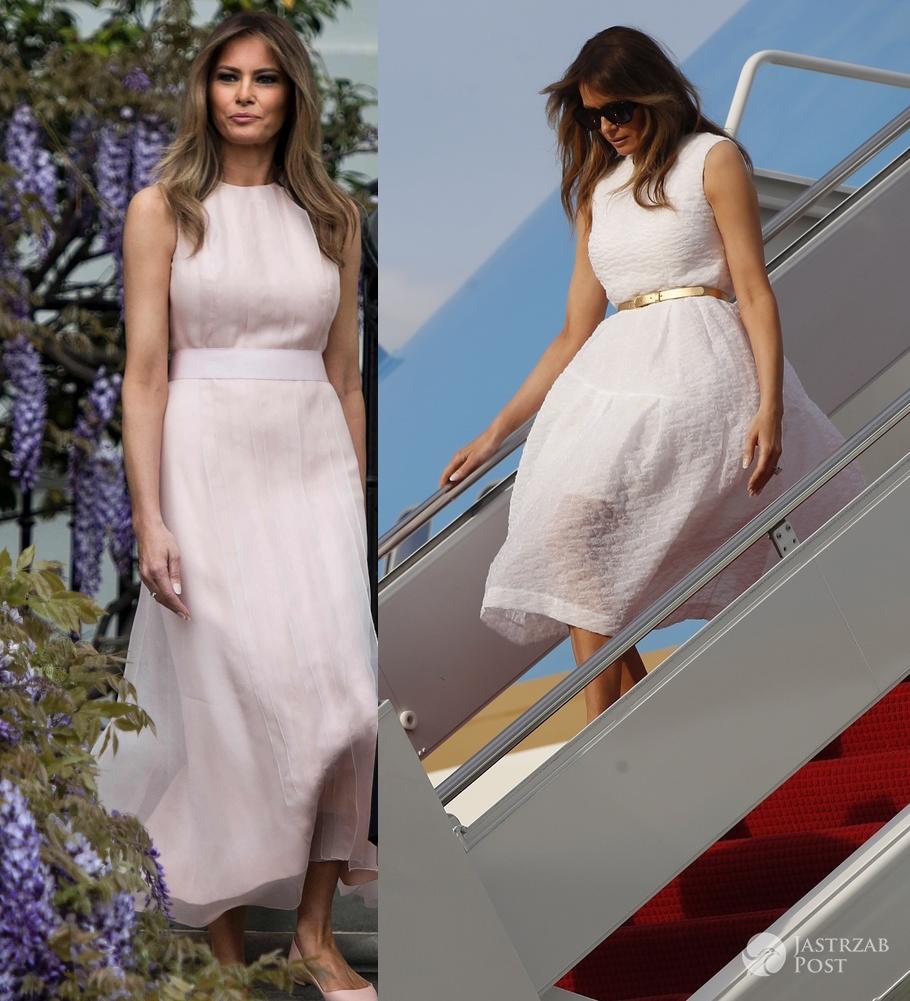 Wielkanocne stylizacje Melanii Trump