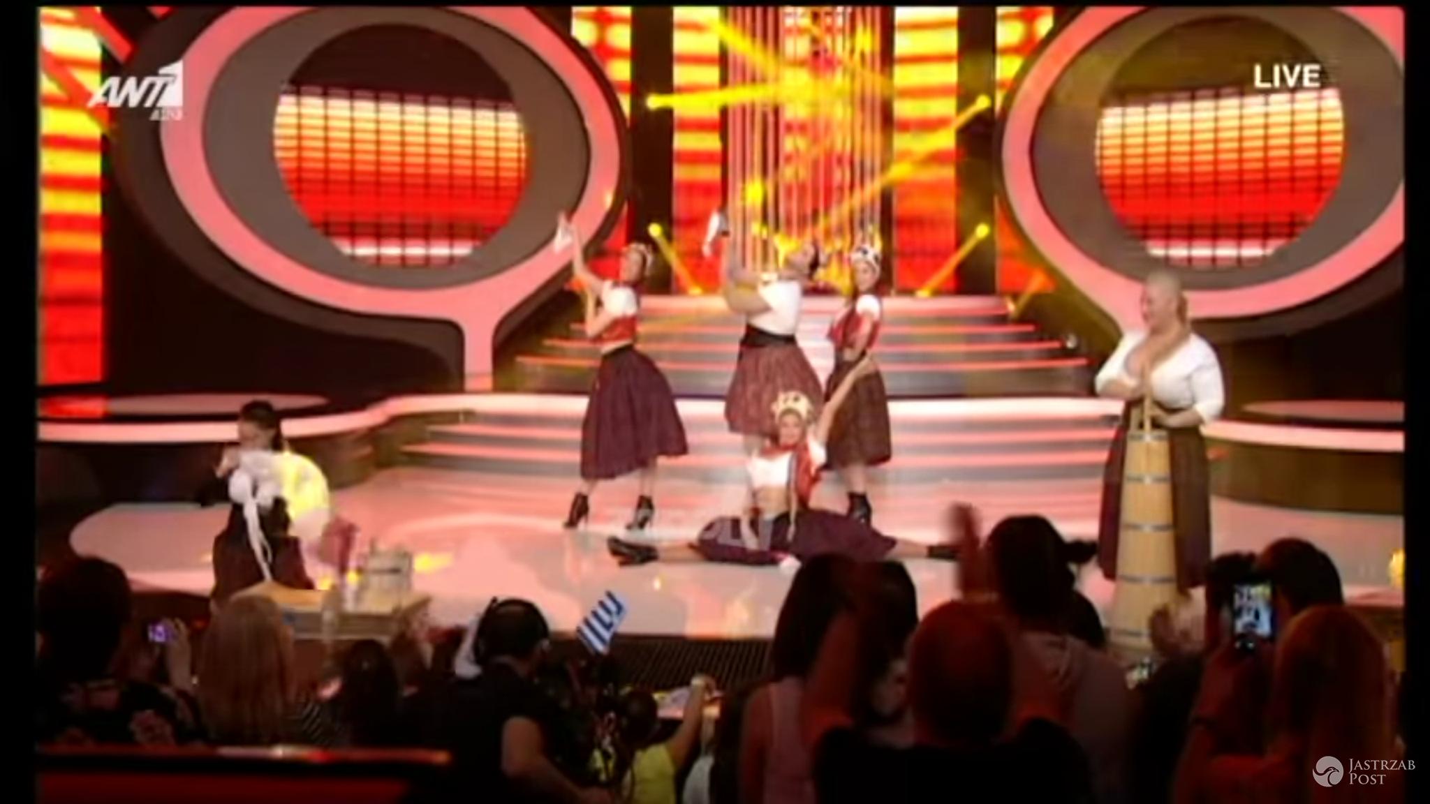 Występ Cleo z Eurowizji 2014 w greckiej Twojej Twarzy