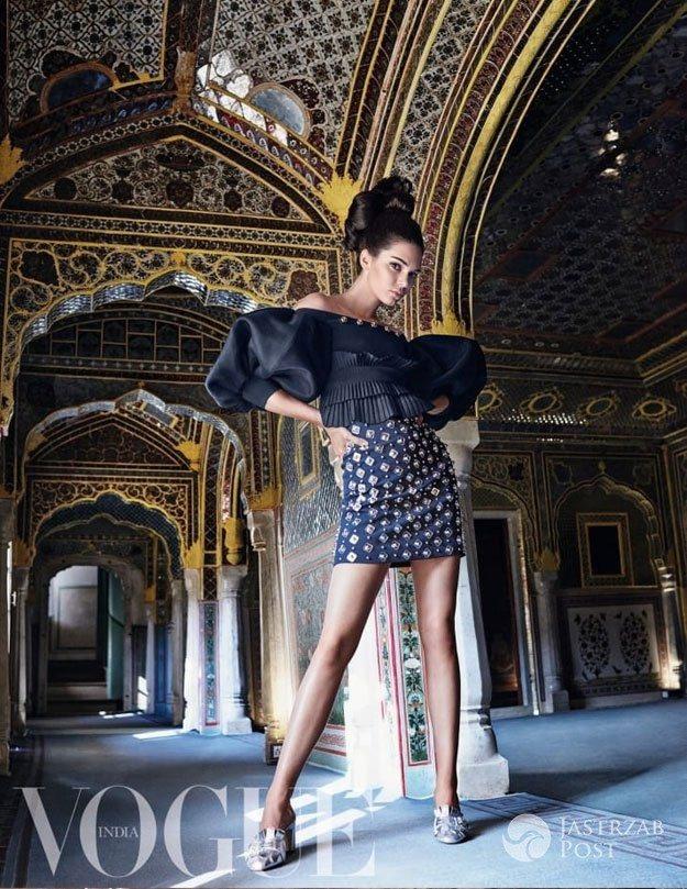 Kendall Jenner dla indyjskiego Vogue'a