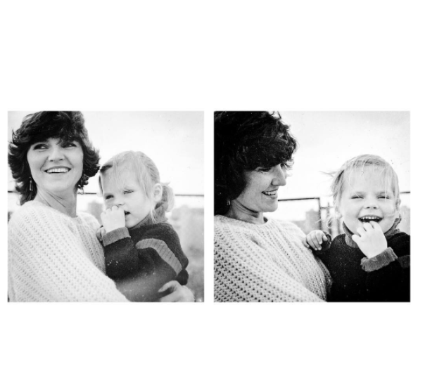 Aleksandra Kwaśniewska z mamą - Dzień Matki 2017