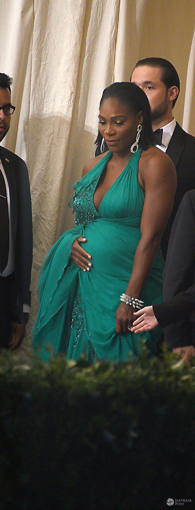 Serena Williams w ciąży - zdjęcia z MET Gala 2017