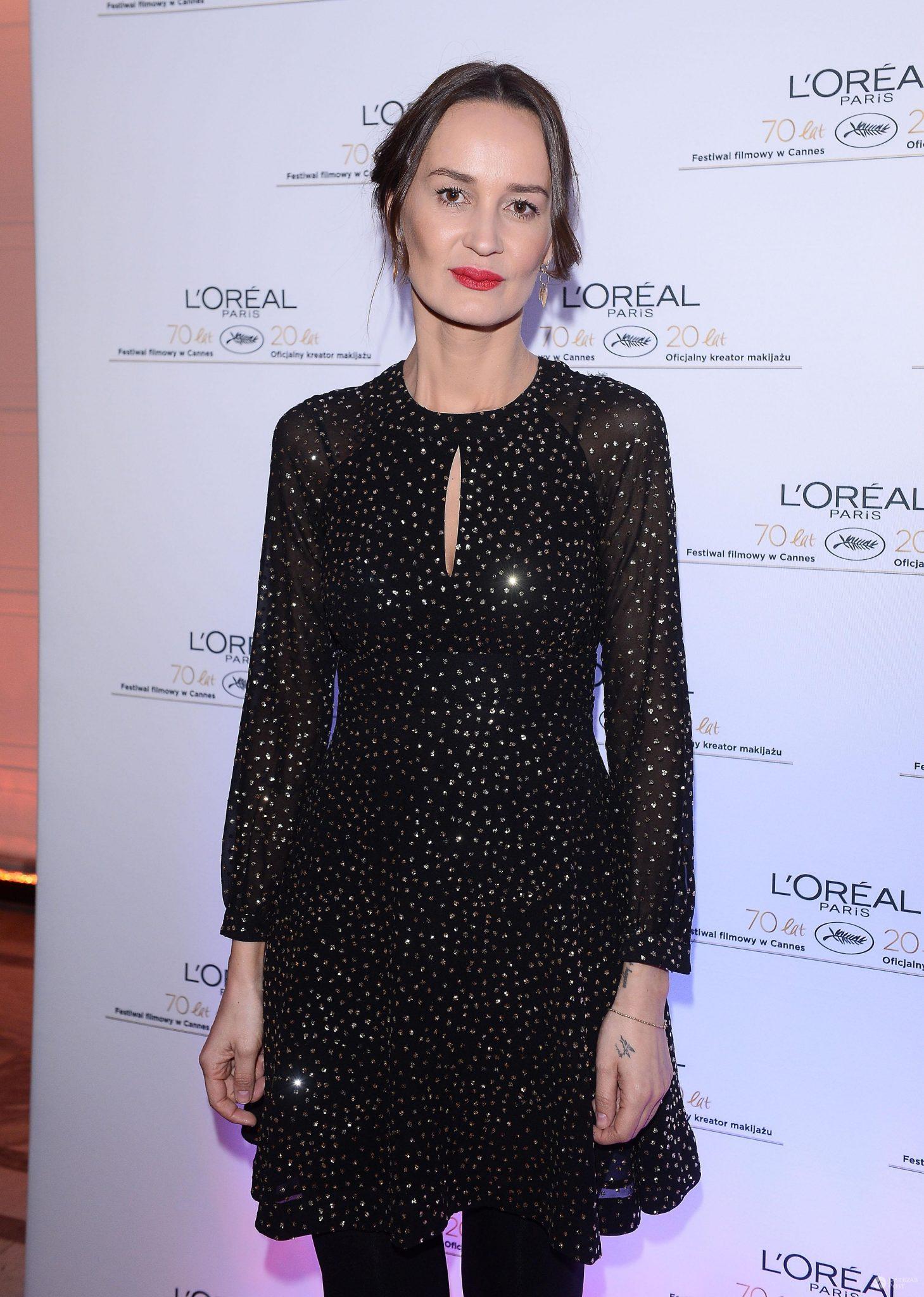 Kasia Zaremba - kolacja z okazji 20-lecia współpracy L'Oreal Paris z Festiwalem Filmowym w Cannes