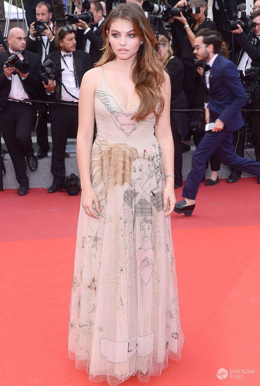 Thylane Blondeau w Cannes 2017
