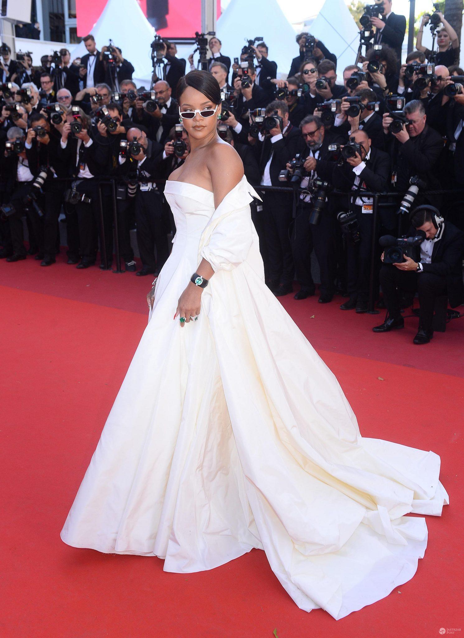 Premiera filmu Okja na Festiwalu w Cannes 2017: Rihanna, Bella Hadid, Juliette Binoche, Lily Collins, Aishwarya Rai Bachchan - Rihanna – Premiera filmu Okja 2017
