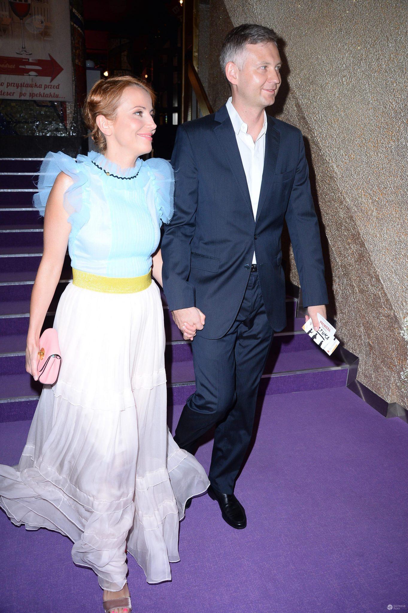 Katarzyna Zielińska z mężem Wojciechem Domańskim