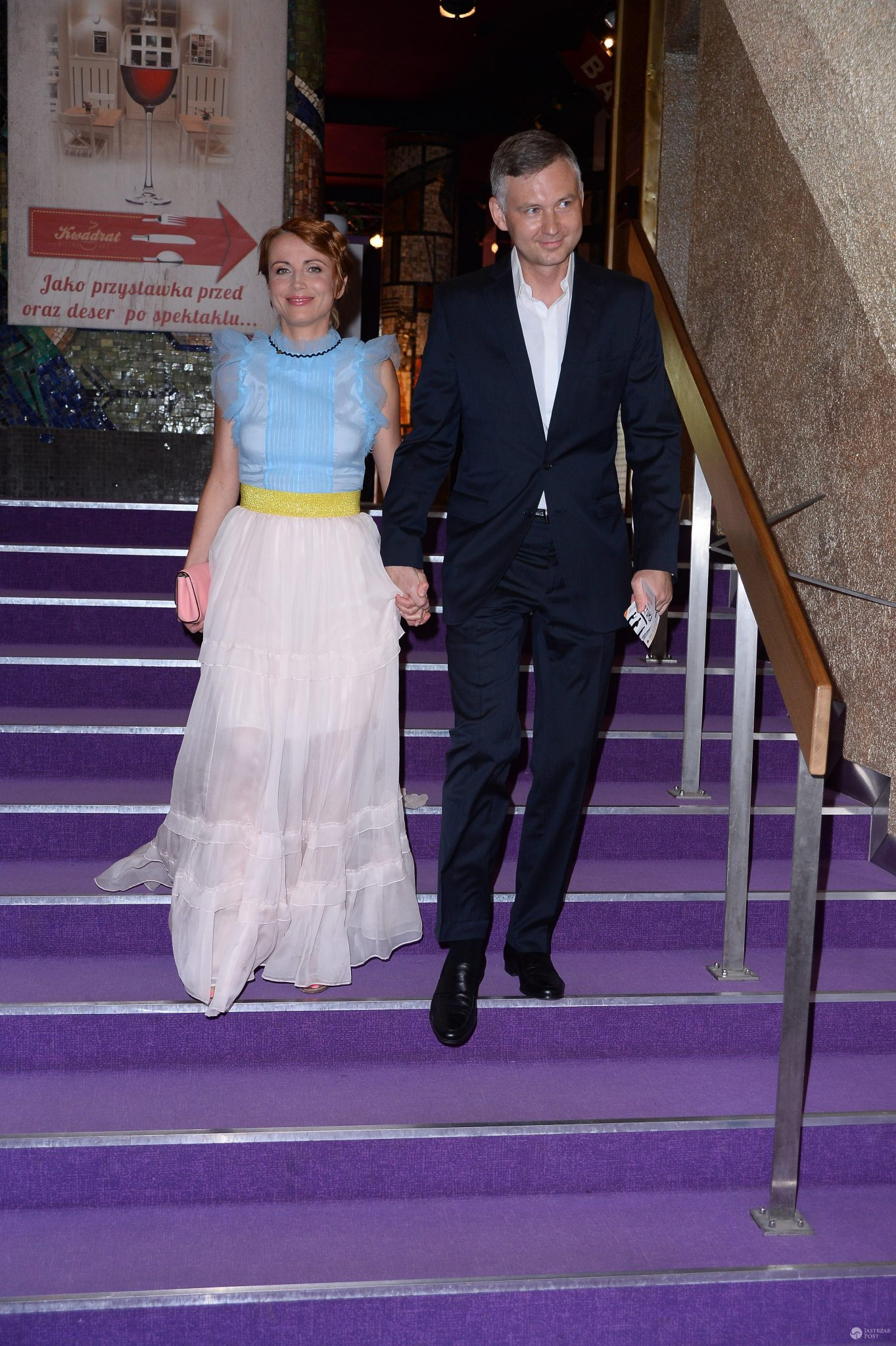 Kasia Zielińska z mężem