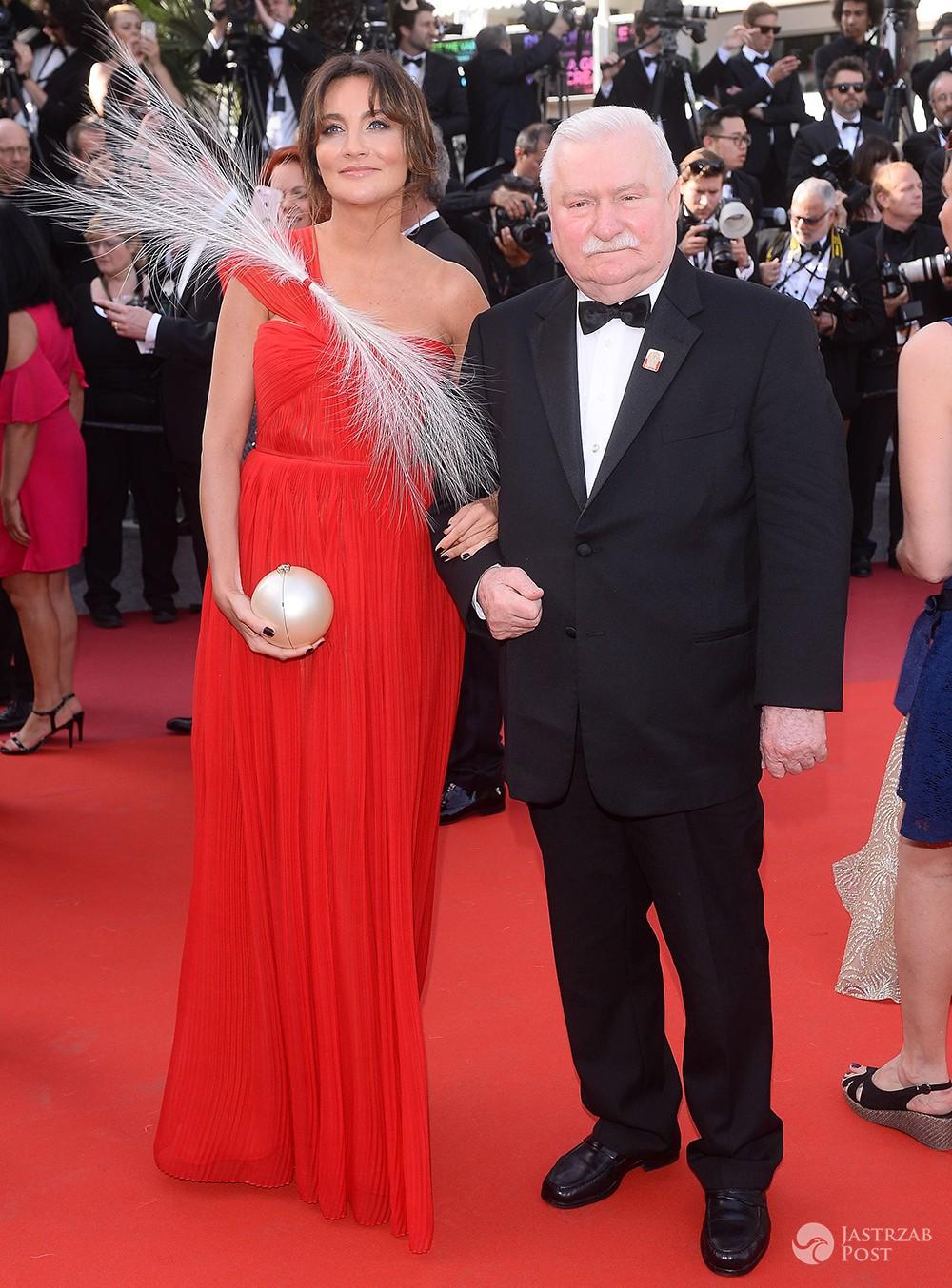 Dominika Kulczyk i Lech Wałęsa - Cannes 2017