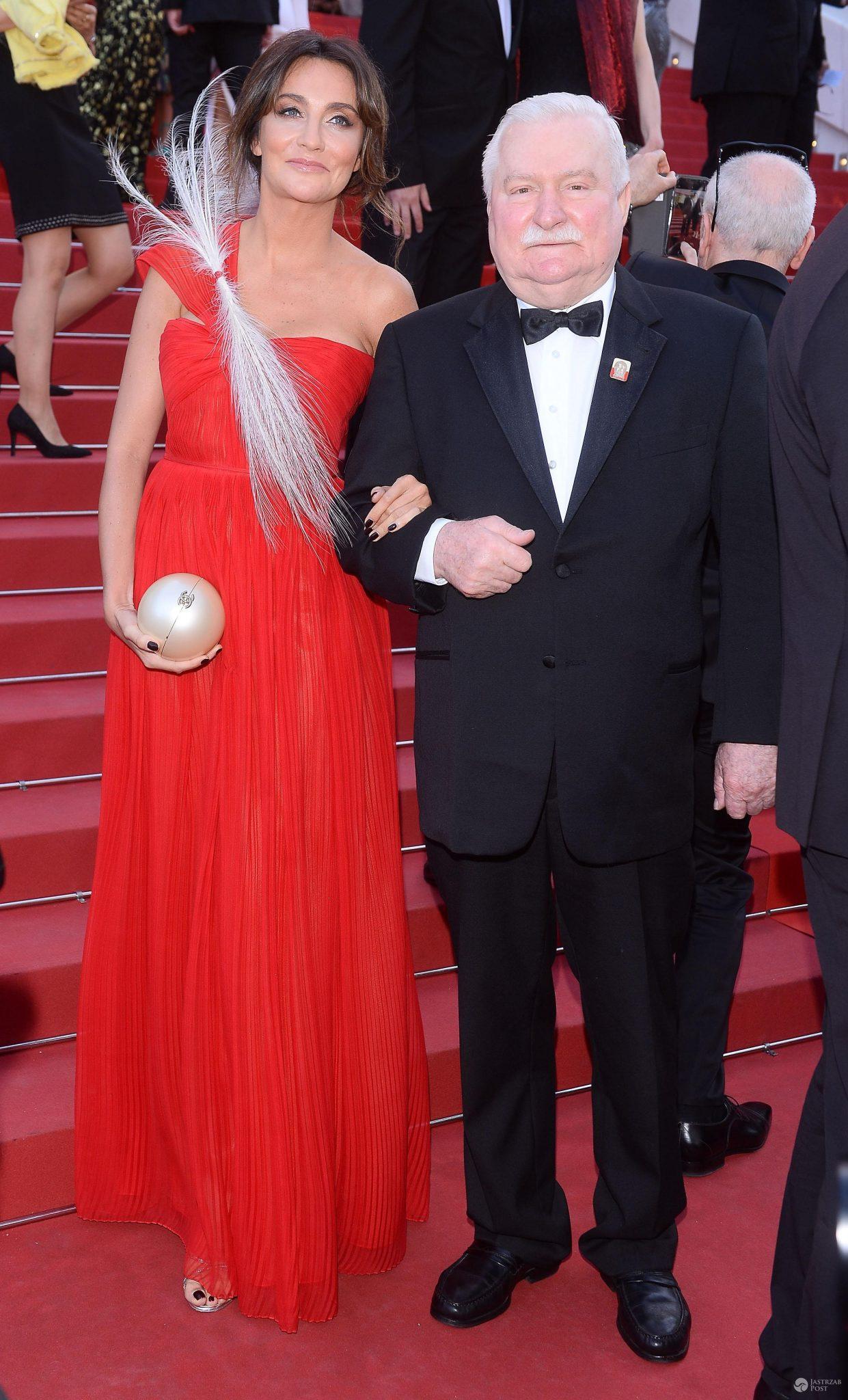 Lech Wałęsa i Dominika Kulczyk w Cannes 2017