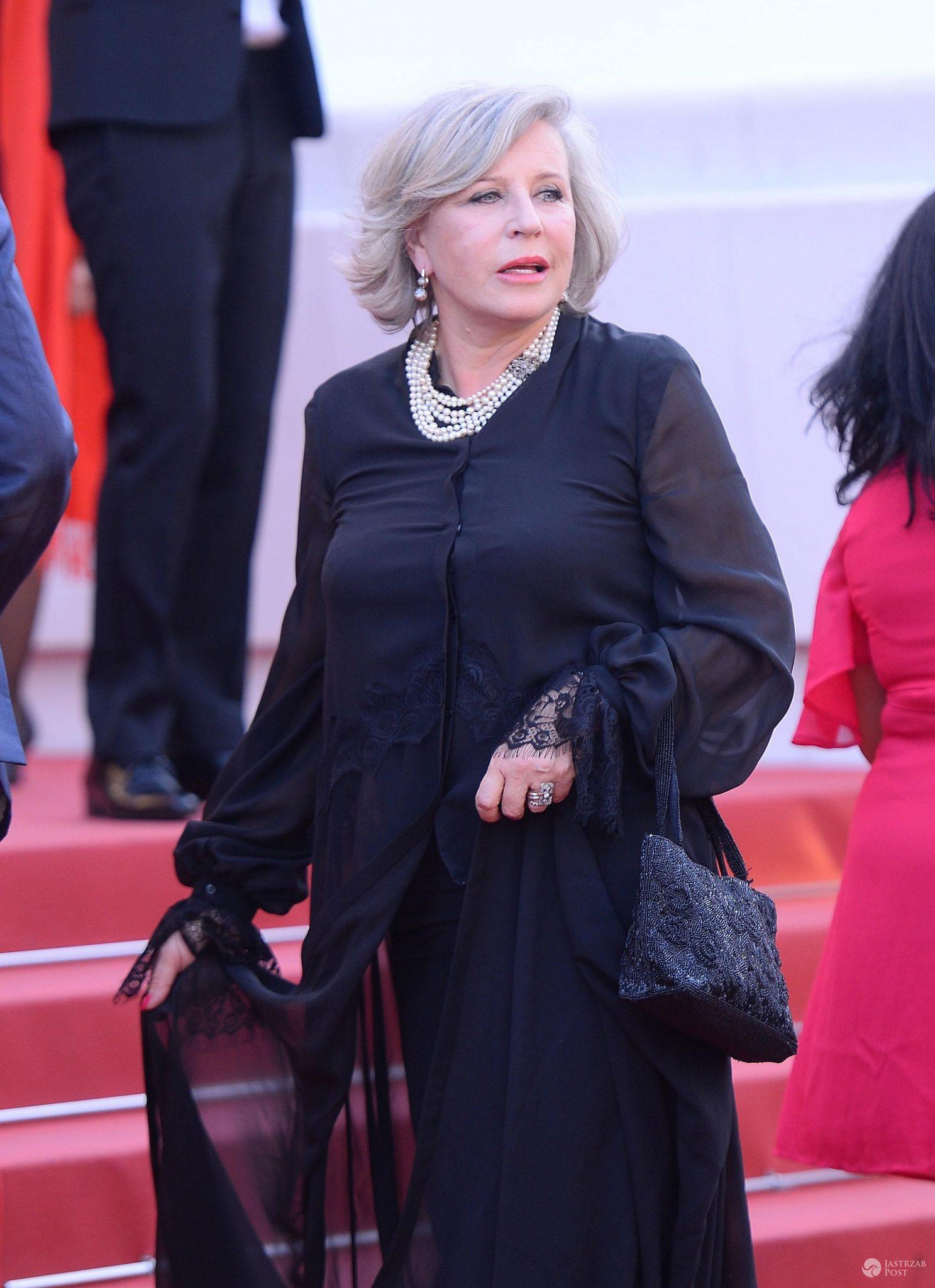 Krystyna Janda w Cannes 2017