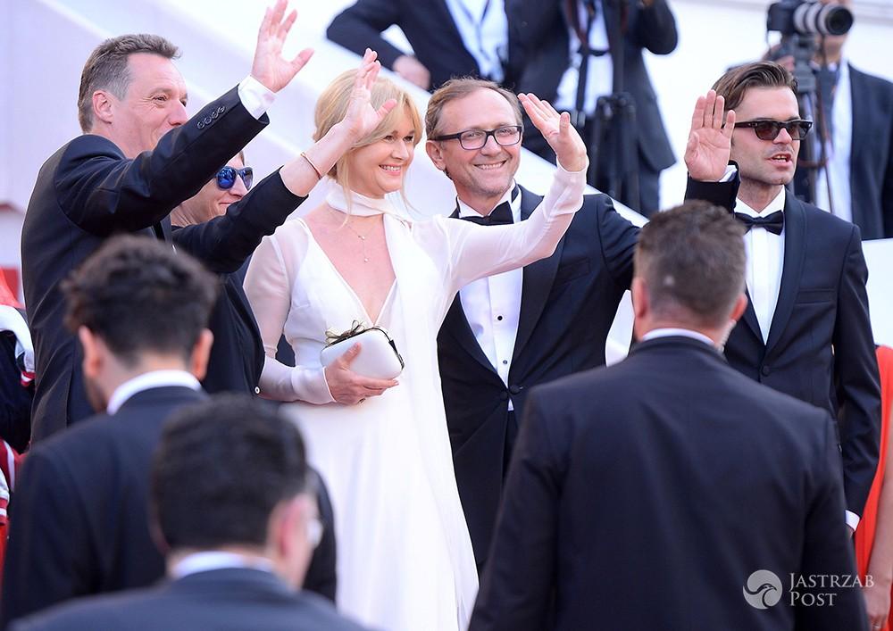 Grażyna Torbicka i Andrzej Chyra - Polacy w Cannes 2017