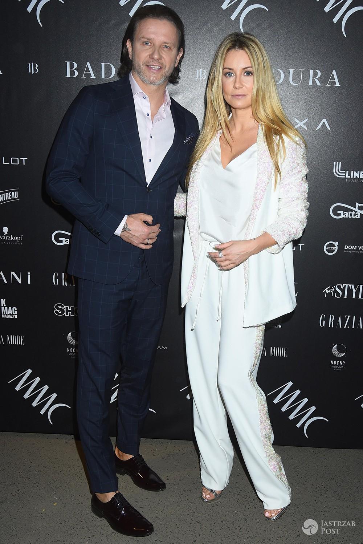 Małgorzata Rozenek i Radosław Majdan - MMC, pokaz mody 2017