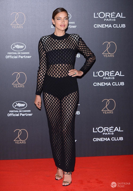 Irina Shayk - impreza z okazji 20-lecia marki L'Oreal w Cannes 2017