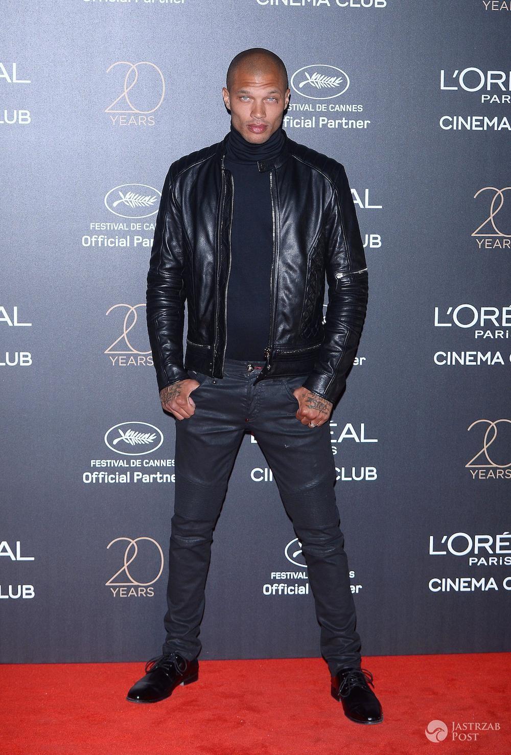 Jeremy Meeks - impreza z okazji 20-lecia marki L'Oreal w Cannes 2017
