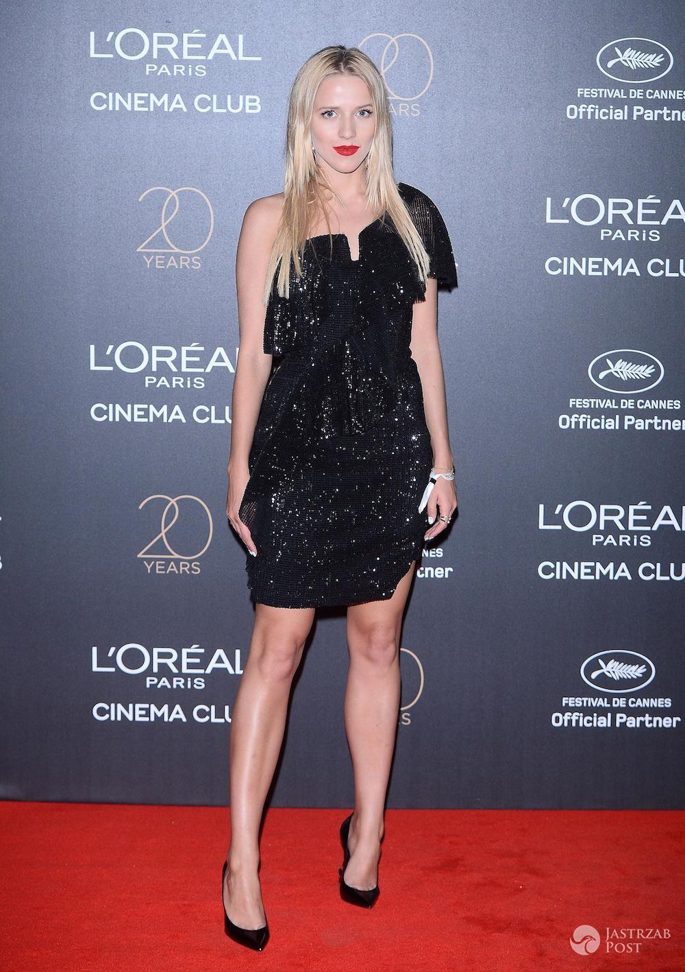 Jessica Mercedes - impreza z okazji 20-lecia marki L'Oreal w Cannes 2017