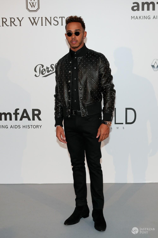Lewis Hamilton - gala AmfAR, Cannes 2017