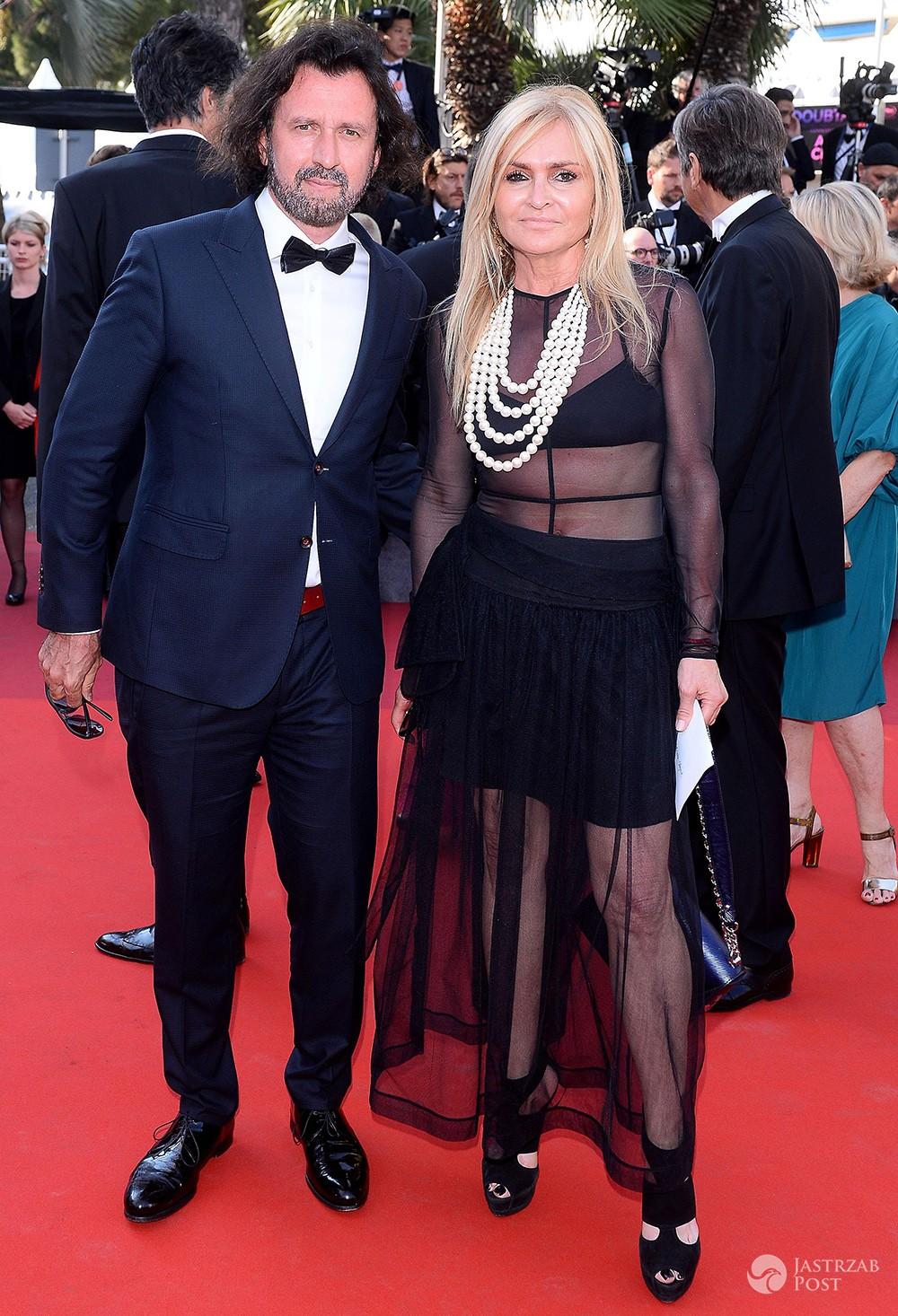 Monika Olejnik i Tomasz Ziółkowski - Cannes 2017, premiera filmu Romana Polańskiego