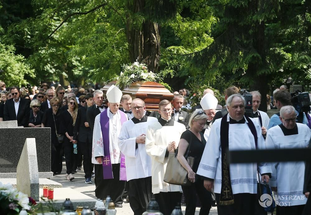 Zdjęcia z pogrzebu Zbigniewa Wodeckiego