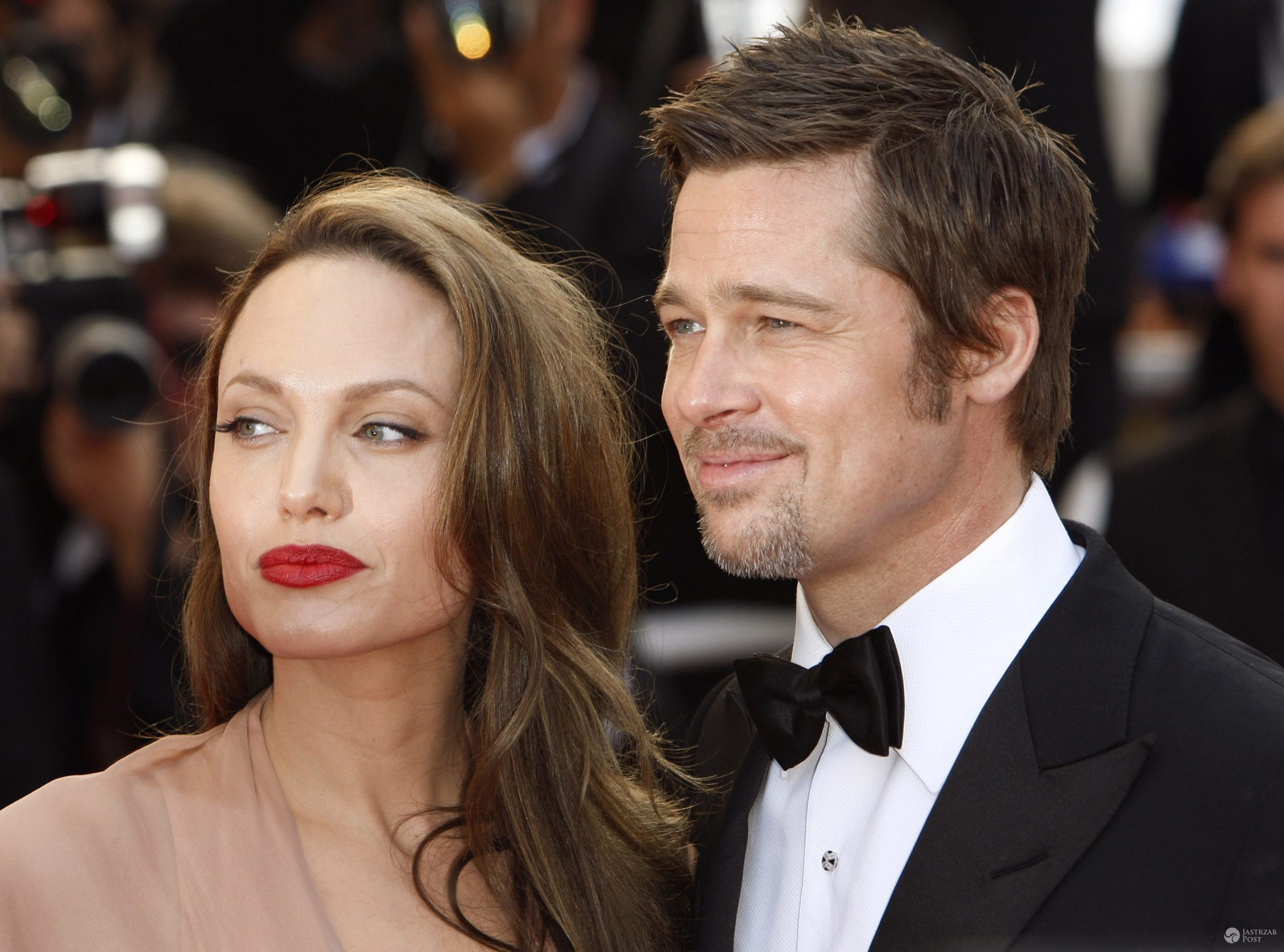 "May 20, 2009 Cannes, France Angelina Jolie and Brad Pitt ""Inglourious Basterds"" Premiere at the 62nd Annual Cannes Film Festival held at the Palais des Festival © Cannes / AFF-USA.COM"