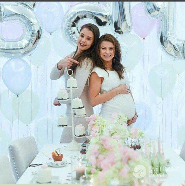 Anna Lewandowska przed porodem