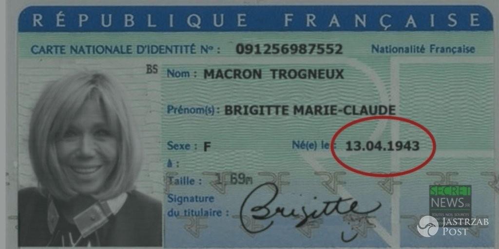 Brigitte Trogneux scan dowodu