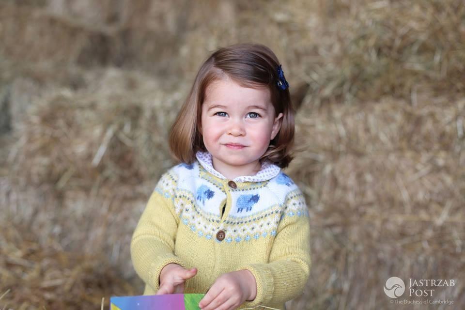 Księżniczka Charlotte oficjalne zdjęcie z okazji drugich urodzin