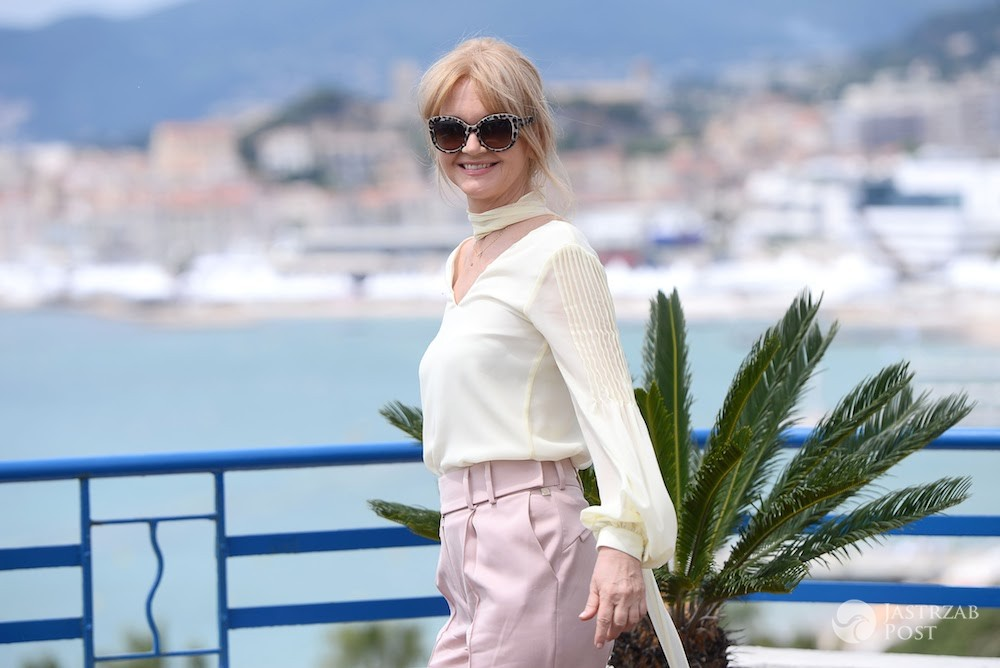 Grażyna Torbicka w Cannes 2017