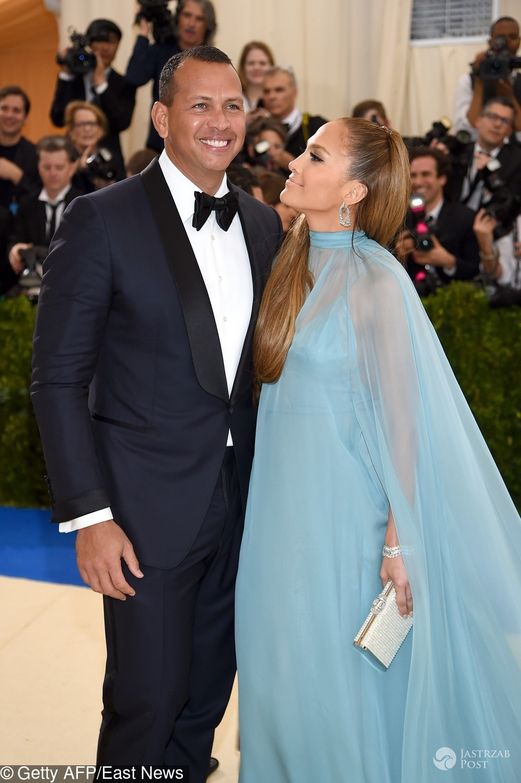 Jennifer Lopez i Alex Rodriguez na MET Gala 2017
