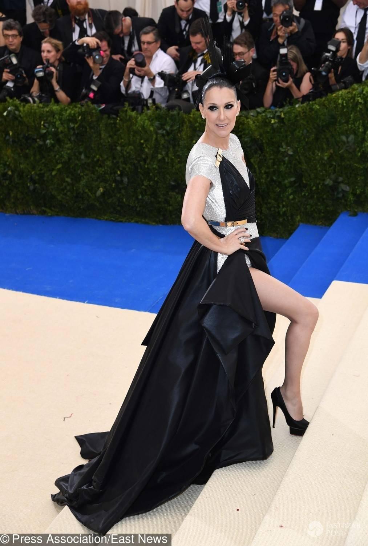 Celine Dion na MET Gala 2017 w sukni Versace
