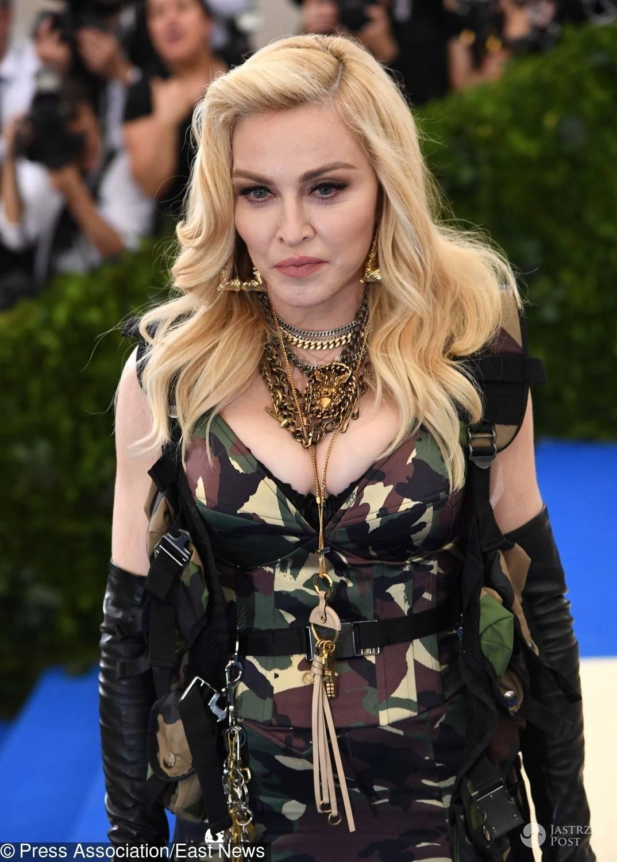Twarz Madonny - MET Gala 2017