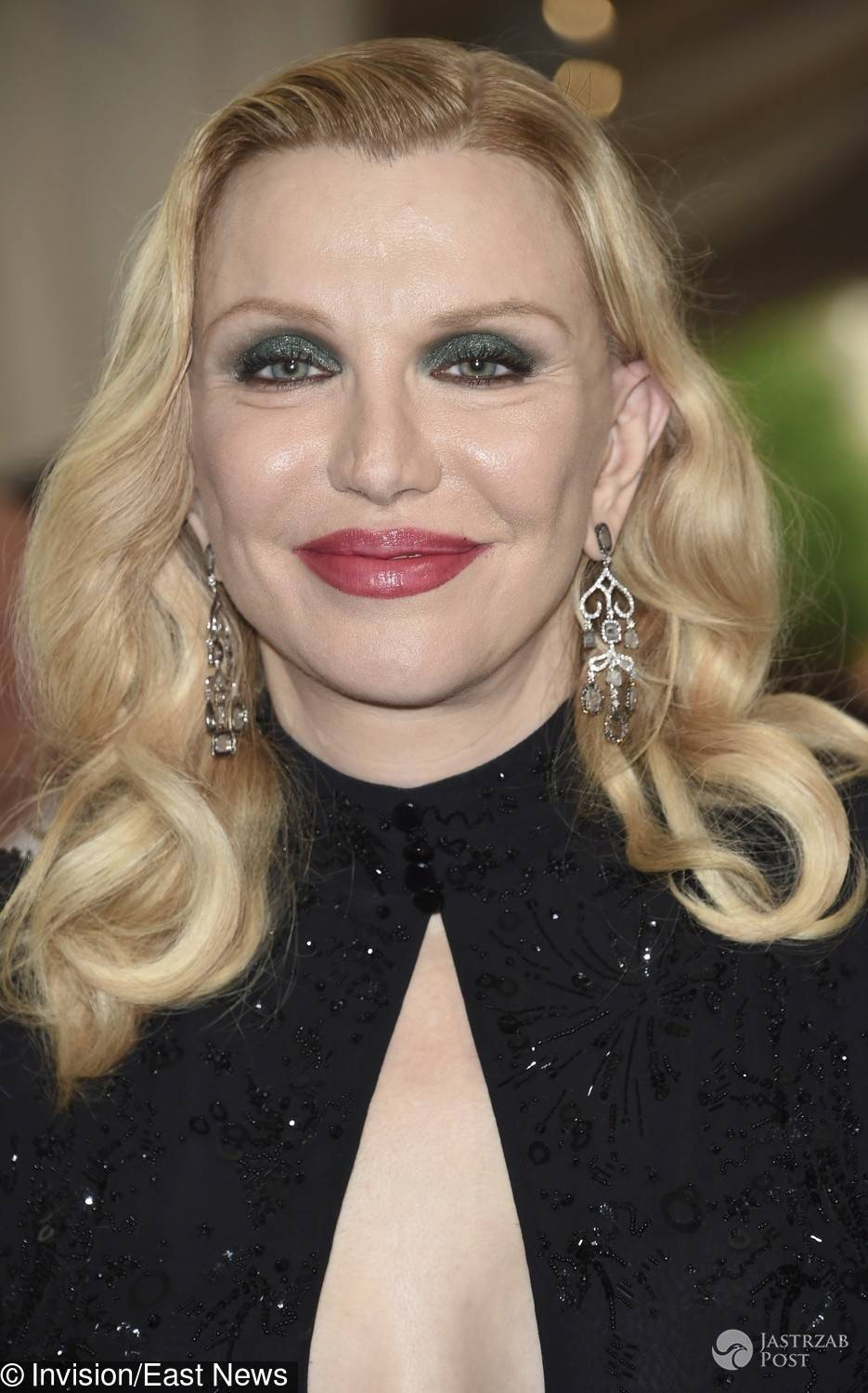 Twarz Courtney Love - MET Gala 2017