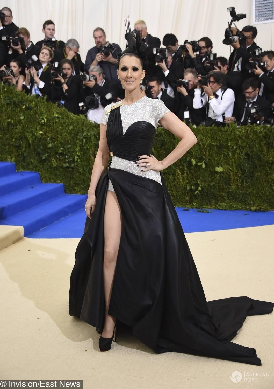 Celine Dion - MET Gala 2017, kreacja: Versace