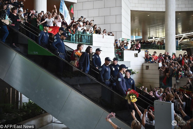 Tłumy witają Salvadora Sobrala po Eurowizji 2017