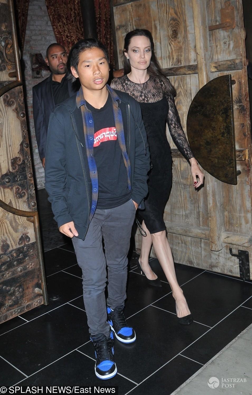 Angelina Jolie spędziła dzień matki tylko z jednym dzieckiem - syn Pax